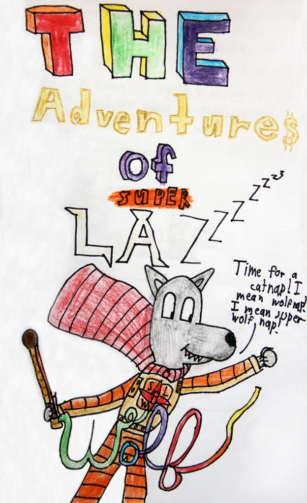 Lazy Wolf Book – Super Lazy Wolf