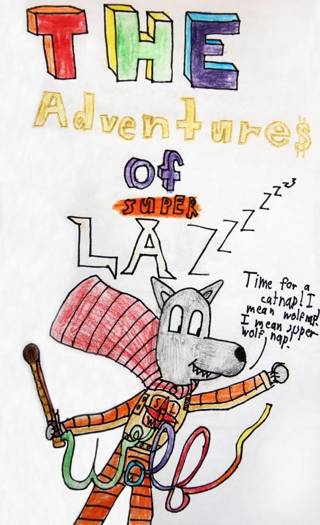 Lazy Wolf Book – Super Lazy Wolf