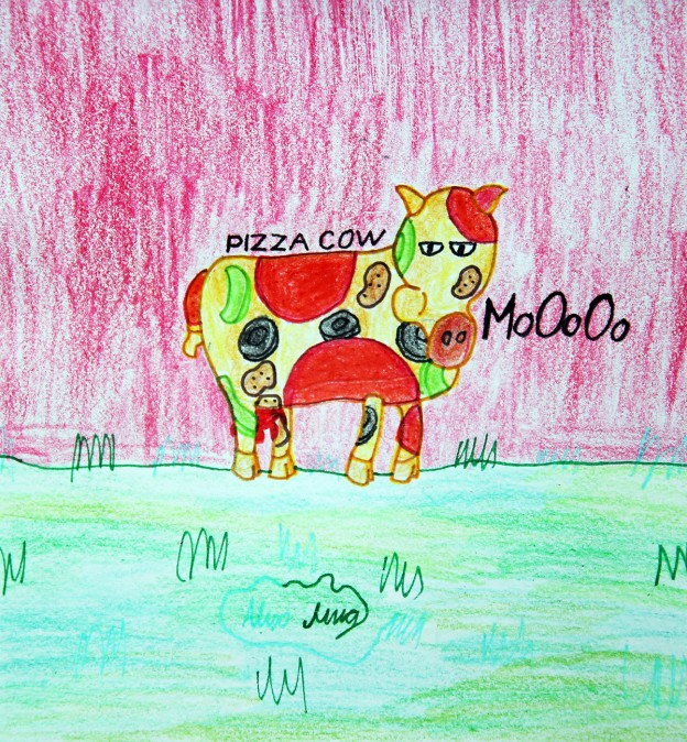 Pizza Cow